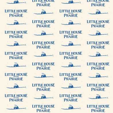 Andover Fabrics Little House Logo Blue