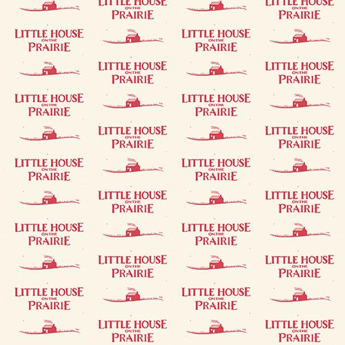 Andover Fabrics Little House Logo Red