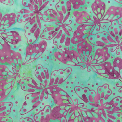Anthology Fabrics - Butterflies Northern Bloom