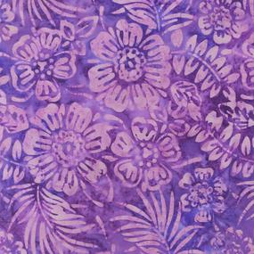 Anthology Fabrics Flowers - Light Iris