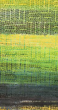 Anthology Fabrics Tango Green & Yellow