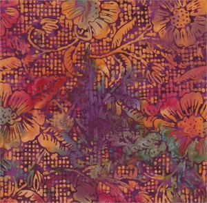 Batik Textiles Gardening with Tutu - Multi Color
