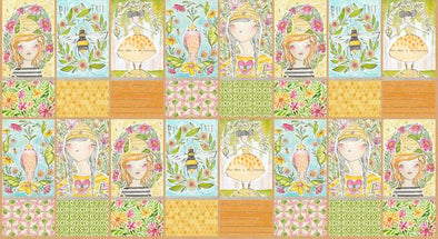 Blend Fabrics Love of Bees- Sweet Moments Panel