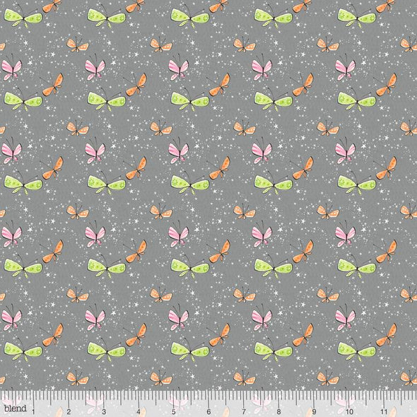 Blend Fabrics Sugar & Spice Kaleidoscope Gray