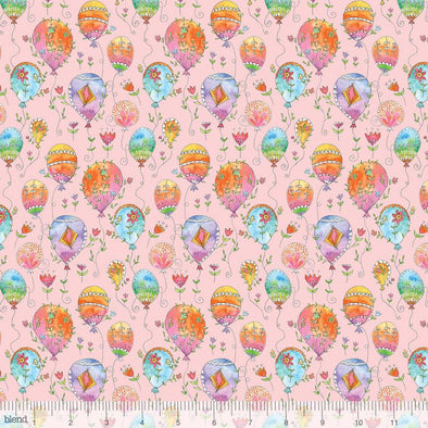 Blend Fabrics Waltz of Whimsy Charmed Pink