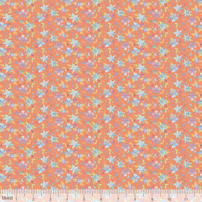 Blend Fabrics Waltz of Whimsy Ramble Coral