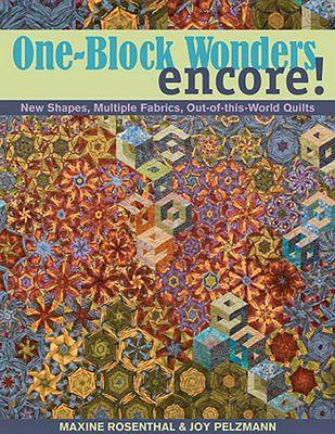 C & T Publishing One-Block Wonders Encore! Book