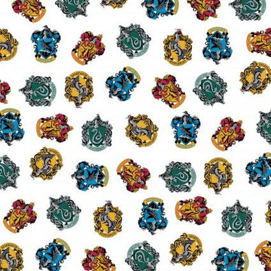 Camelot Fabrics Wizarding World White