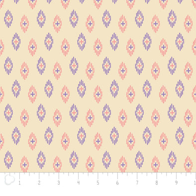Camelot Fabrics Kaleidoscope Ikat in Cream