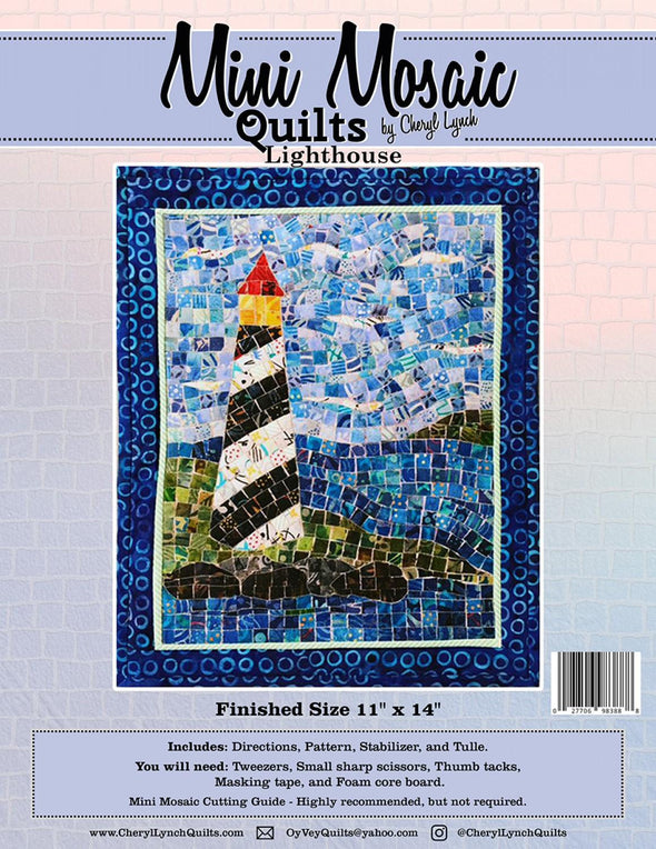 Cheryl Lynch Mini Mosaic Quilts Lighthouse