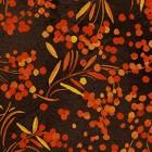 Clothworks Fall Feast Branches & Berries Brown