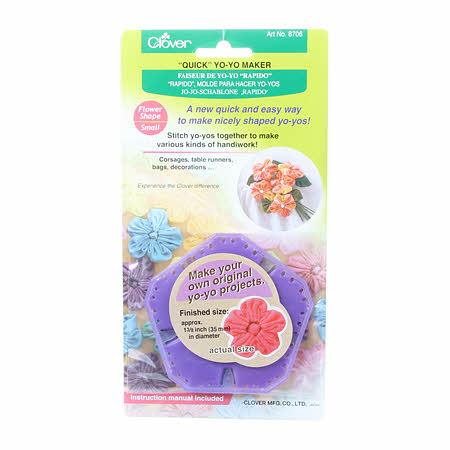 Clover Quick Yo-Yo Maker Small Flower