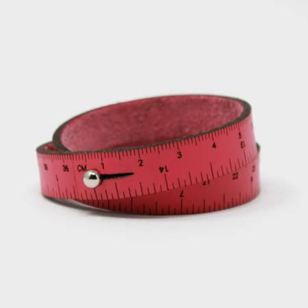 Crossover Industries Rubber Wrist Ruler Pink