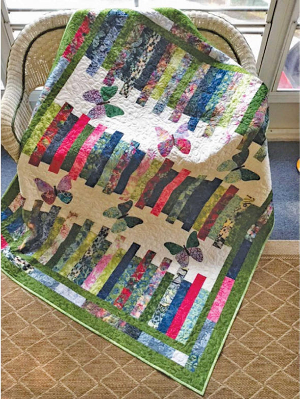 Cut Loose Press Strippy Delight Quilt Pattern