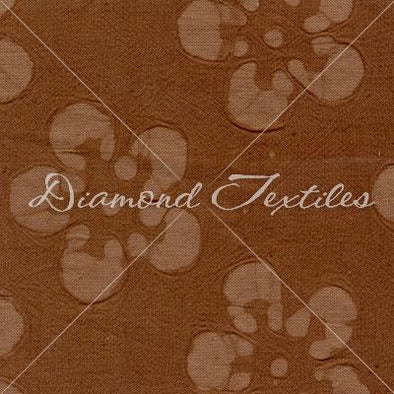 Diamond Textiles Cotton Embossed Brown