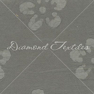Diamond Textiles Cotton Embossed Gray