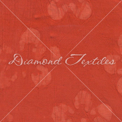 Diamond Textiles Cotton Embossed Orange