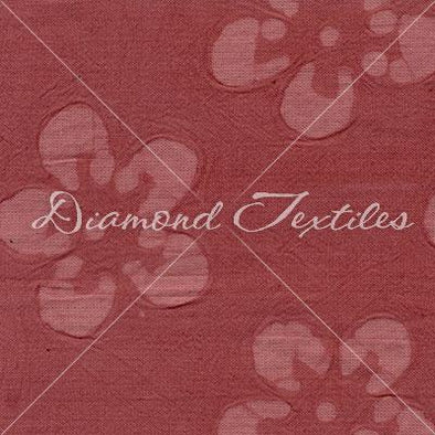 Diamond Textiles Cotton Embossed Terra Rosa