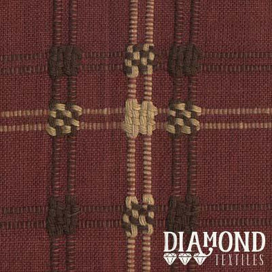 Diamond Textiles Primitive Rustic Brown