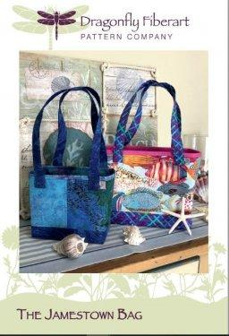 Dragonfly Fiberart The Jamestown Bag