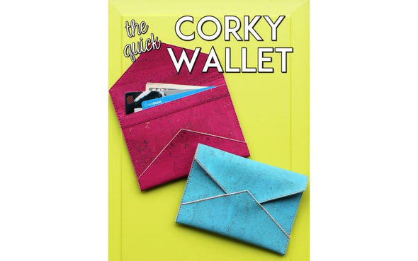EE Shenck Quick Corky Wallet Pattern