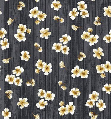 Exclusively Quilters Paloma Gray Floral