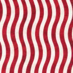 Fabri-Quilt Valor Wavy Stirpes Red/White