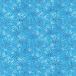 Fabri-Quilt You Bug Me Cobwebs Turquoise