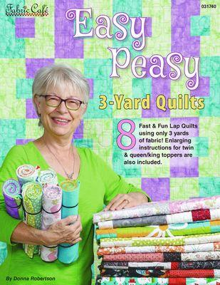 Fabric Cafe - 3 Yard Quilts Easy Peasy 3-Yard Quilts