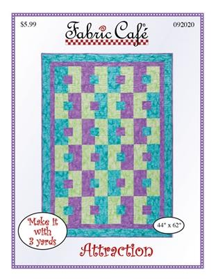 Fabric Cafe Attraction - Make it with 3 yards