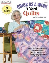 Fabric Cafe - 3 Yard Quilts Quick as a Wink 3-yard Quilts