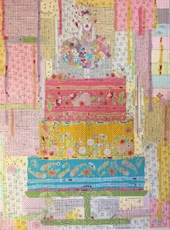 Fiberworks Laura Heine Eat Cake Collage Pattern
