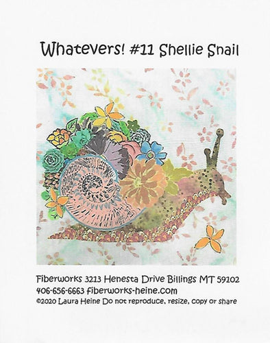 Fiberworks Inc Laura Heine - Whatevers #11 Shellie Snail