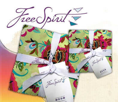 "Freespirit Fabrics Natural Beauty - 5"" Charms"