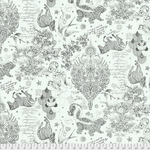 Freespirit Fabrics - Backing Fabric - Sketchyer - Paper