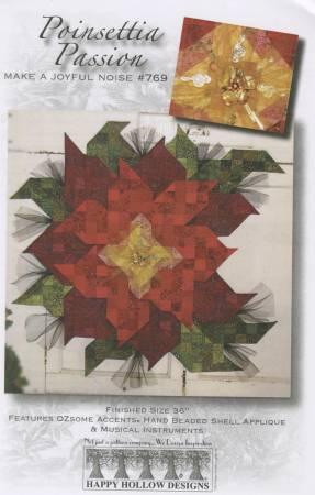 Happy Hollow Designs Poinsettia Passion Pattern