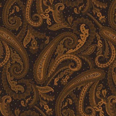 Henry Glass & Co Katie's Cupboard Paisley, Blk