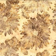 Hoffman Fabrics Bali Batik - Big Tropical Bluff