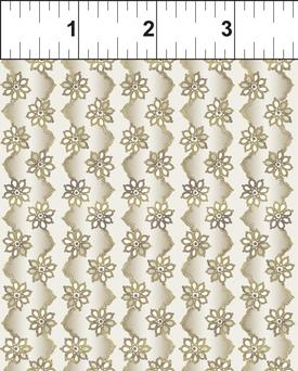 In The Beginning Fabrics Brianna Zig Zag Stripe Taupe
