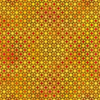 In The Beginning Fabrics Unusual Garden II Citron Dots
