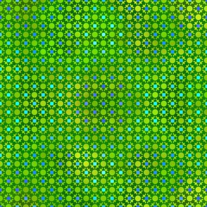 In The Beginning Fabrics Unusual Garden II Green Dots