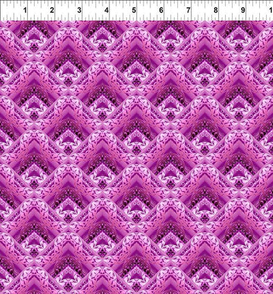 In The Beginning Fabrics Unicorns Lace- Magenta