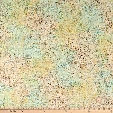 Island Batik Mini Dots-Custard