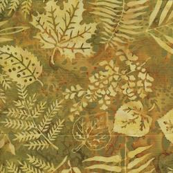Island Batik Sweet GA Peach Fern Tan