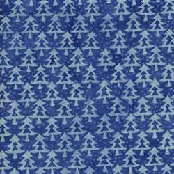 Island Batik Tinsel Tree Med & Lt Blue