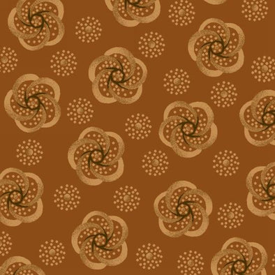 Henry Glass & Co Helping Hands Stylized Flower Beige