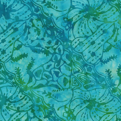 Majestic Batiks - Banks - Light Blue and Green