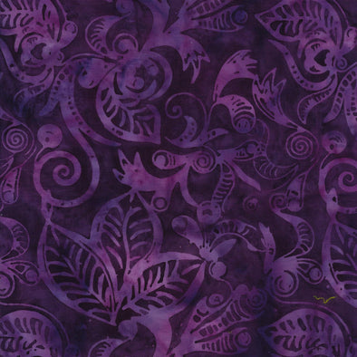 Majestic Batiks Ranier Purple