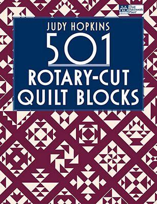 Martingale 501 Rotary-Cut Quilt Blocks Book