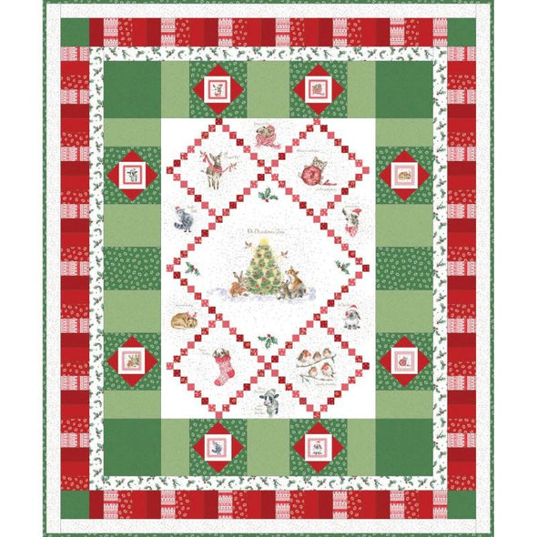 "Maywood Studio - Warm Wishes Quilt - 62"" x 75"""